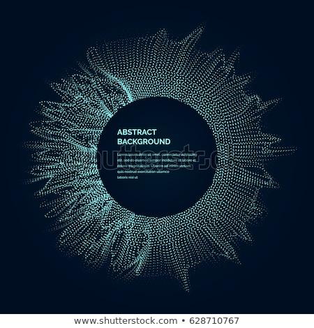 抽象的な · ネットワーク · デジタル · ベクトル - ストックフォト © sarts