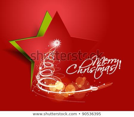 Grunge christmas vector doorzichtigheid abstract Stockfoto © opicobello