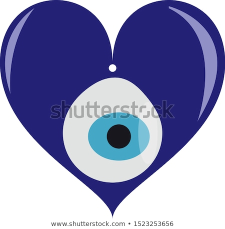 Heart glare in the eye Stock photo © studiostoks