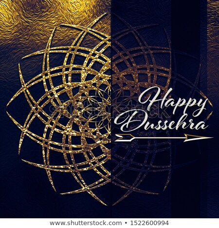 abstract artistic creative dussehra discount card stock photo © pathakdesigner