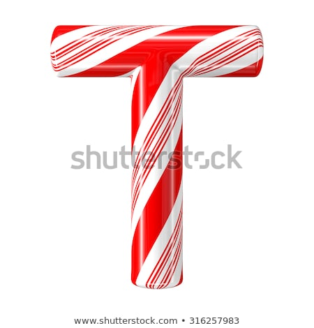 Letter t candies  Stock photo © Olena
