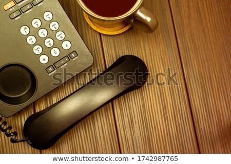 voip · sleutel · stem · internet · protocol · breedband - stockfoto © tashatuvango