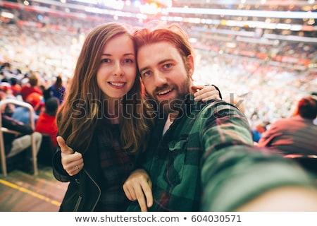 sports fan loves USA Stock photo © rogistok