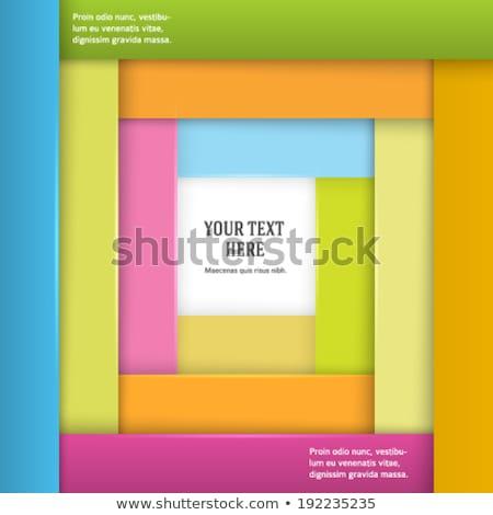 Evenement marketing boek titel business Stockfoto © tashatuvango