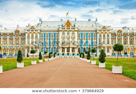 宮殿 · 町 · 空 · 家 · 自然 · 夏 - ストックフォト © alessandro0770