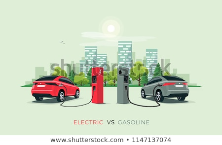 Gasoline And Electric Energy Stock photo © Lightsource
