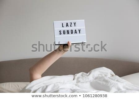 Lazy sunday Stock photo © IS2