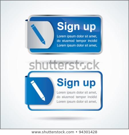 Fényes szín weboldal internet ikon gomb Stock fotó © vector1st