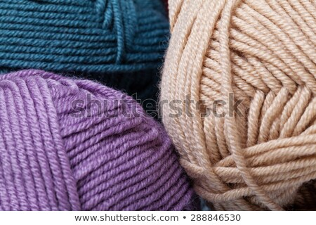 Ingesteld kleurrijk wol garen Stockfoto © stefanoventuri