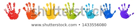 Vector child hand Stock photo © biv