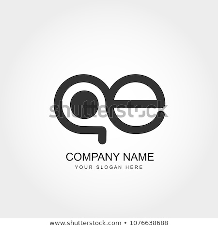 abstract initial letter CE or OE logo concept design template vector illustration Stock photo © taufik_al_amin