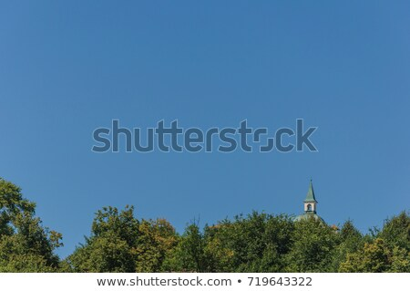 Church with blue sky above Stock photo © IS2