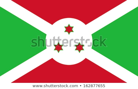 burundi flag vector illustration stock photo © butenkow
