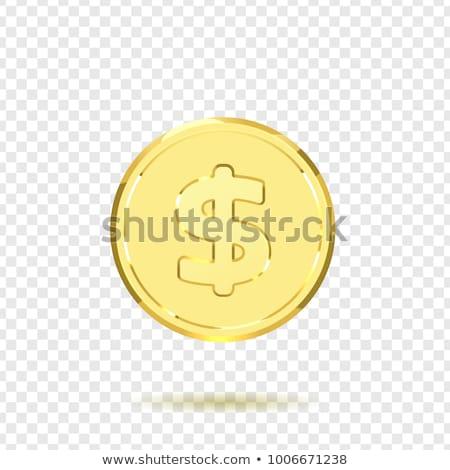 bitcoin · 3D · altın · madeni · vektör · ayarlamak · gerçekçi - stok fotoğraf © articular