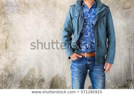 hombre · chaqueta · percha · ropa · tienda - foto stock © robuart