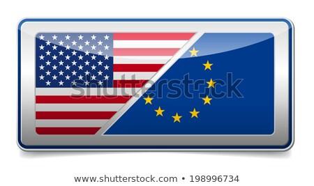 bayrak · örnek · kalem · iş · boya · imzalamak - stok fotoğraf © vintrom