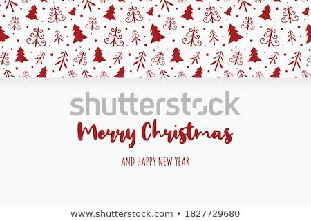 Noel · tebrik · kartı · şablon · dizayn · altın - stok fotoğraf © ussr