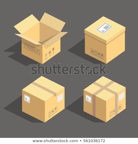 scheepvaart · vak · vector · icon · borden · business - stockfoto © tashatuvango