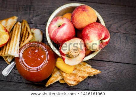 Peach Jam or Jelly Stock photo © ildi