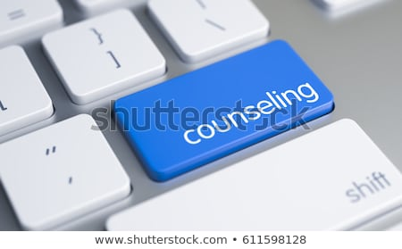 Consulting - Message on White Keyboard Button. 3D. Stock photo © tashatuvango