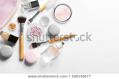 Stok fotoğraf: Cosmetics Makeup Accessories