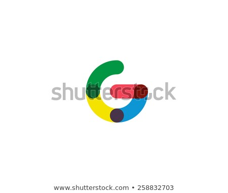 colorful letter g spiral sign logo stock photo © blaskorizov