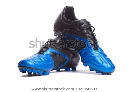 Soccer boot, football leather shoe, sport footwear Stock photo © Andrei_