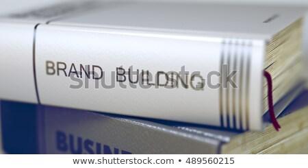 marca · costruzione · sviluppo · creazione · forte · rosso - foto d'archivio © tashatuvango