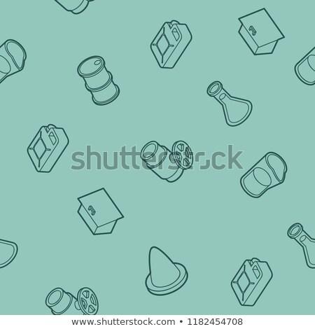 Benzin skicc izometrikus minta eps 10 Stock fotó © netkov1
