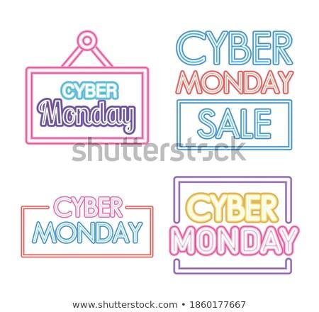 mouse · de · computador · ilustração · cordão · palavras · isolado · branco - foto stock © robuart