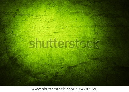 Closeup of the decayed old green wall Stock photo © boggy
