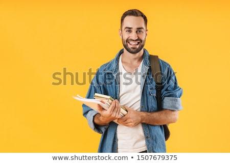 Geel kleding ingesteld jongen emoties Stockfoto © toyotoyo