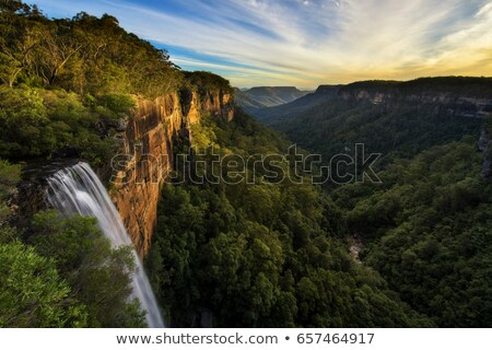 Beautiful waterfall in Southern Highlands Stock photo © lovleah