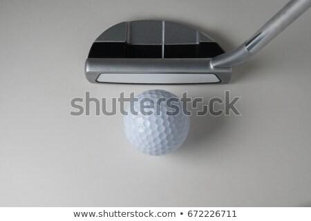 ゴルフ · クラブ · 孤立した · 白 - ストックフォト © feverpitch