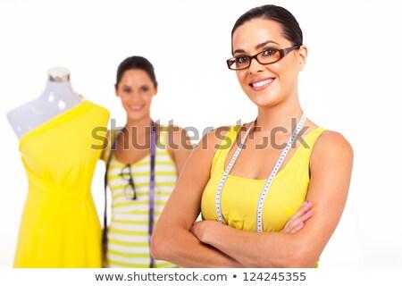uśmiechnięty · moda · pracy · biuro · startup · edukacji - zdjęcia stock © pressmaster