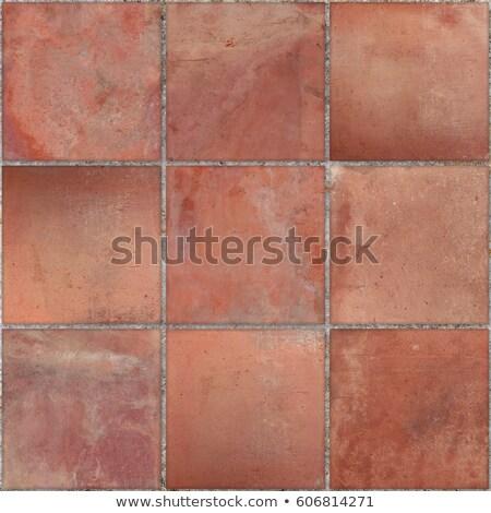 Terracotta tiles Stock photo © REDPIXEL