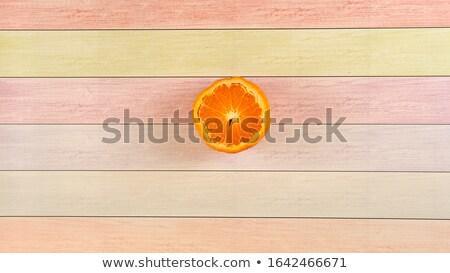 tangerine cut Stock photo © prill