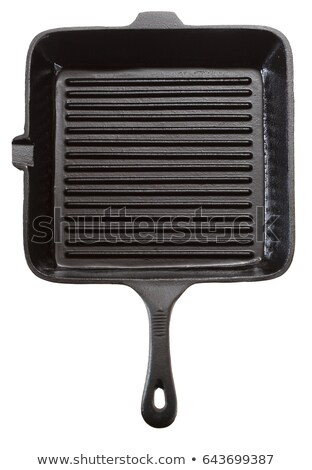 Black griddle Stock photo © Discovod