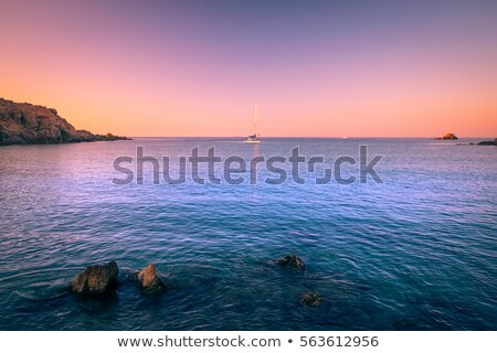 Sunrise on the Sardinia Stock photo © CaptureLight