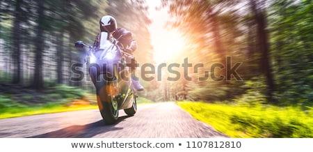 Motorcycle Rider Stock photo © ArenaCreative