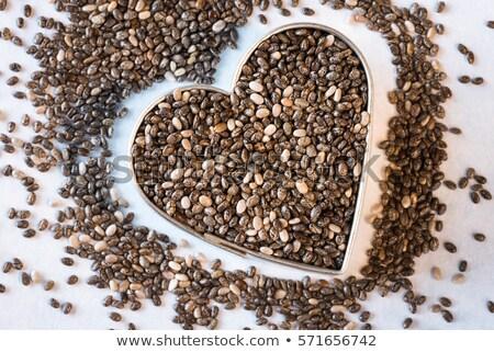 chia in heart stock photo © fotoyou