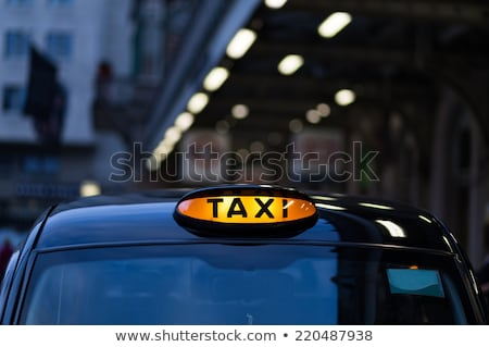 colorful cab Stock photo © get4net