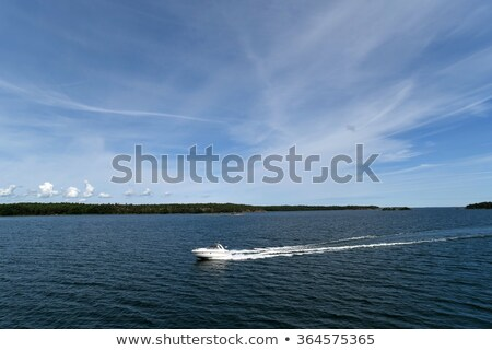 Trace of Speed boats Stock photo © smuki