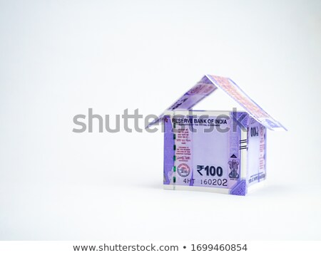 Indiano um cem notas dinheiro Foto stock © imagedb