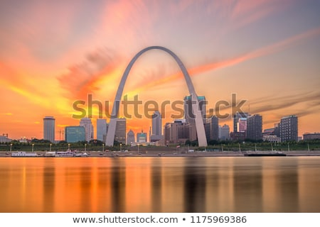 evening in st louis stock photo © benkrut
