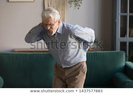 chiropraxie · mannen · ziekte · ingesteld · man - stockfoto © toyotoyo