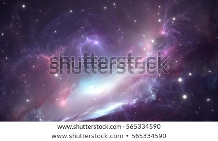 nebula and stars in deep space mysterious universe stock photo © nasa_images
