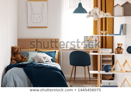 kids bedroom interior and toys stock photo © colematt