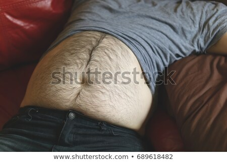 caucasian man with a pot belly Stock photo © nito