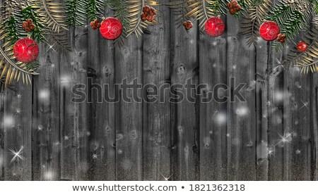 Ontwerp houten frame illustratie achtergrond frame kunst Stockfoto © colematt